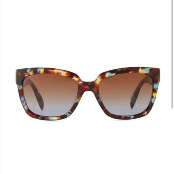 d2ae5d448902 Prada Havana Blue Rectangular Sunglasses w  Box. M 5b665880dcfb5afa9582e31a